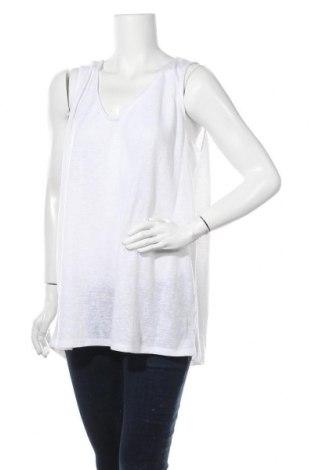 Γυναικείο αμάνικο μπλουζάκι Suzanne Grae, Μέγεθος XXL, Χρώμα Λευκό, Πολυεστέρας, Τιμή 4,16€