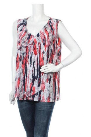 Γυναικείο αμάνικο μπλουζάκι Suzanne Grae, Μέγεθος XXL, Χρώμα Πολύχρωμο, 96% πολυεστέρας, 4% ελαστάνη, Τιμή 4,16€