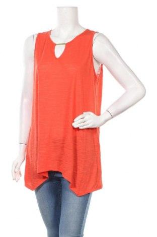 Γυναικείο αμάνικο μπλουζάκι Suzanne Grae, Μέγεθος L, Χρώμα Κόκκινο, Πολυεστέρας, βισκόζη, Τιμή 10,52€