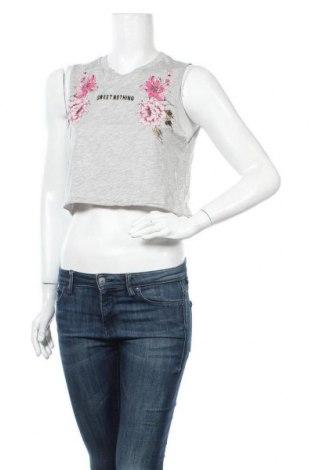 Дамски потник Tally Weijl, Размер S, Цвят Сив, 50% памук, 50% модал, Цена 3,00лв.