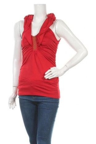 Дамски потник Tout Feu Tout Femme, Размер S, Цвят Червен, 91% полиестер, 9% еластан, Цена 2,00лв.