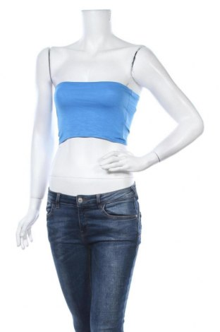 Γυναικείο αμάνικο μπλουζάκι Vert De Rage, Μέγεθος S, Χρώμα Μπλέ, 95% βισκόζη, 5% ελαστάνη, Τιμή 9,29€