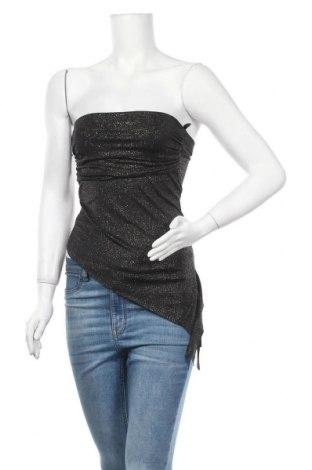Γυναικείο αμάνικο μπλουζάκι Vert De Rage, Μέγεθος S, Χρώμα Μαύρο, 95% πολυεστέρας, 5% ελαστάνη, Τιμή 2,92€