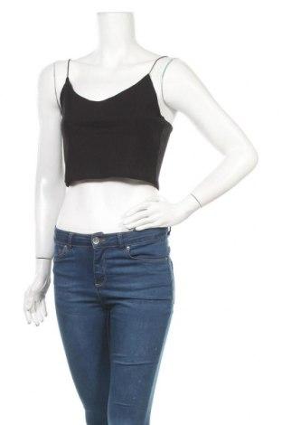 Γυναικείο αμάνικο μπλουζάκι Weekday, Μέγεθος M, Χρώμα Μαύρο, 86% βισκόζη, 14% ελαστάνη, Τιμή 10,82€