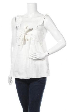 Γυναικείο αμάνικο μπλουζάκι Y.A.S, Μέγεθος L, Χρώμα Λευκό, Βαμβάκι, Τιμή 10,82€