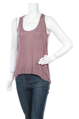 Γυναικείο αμάνικο μπλουζάκι Zara Knitwear, Μέγεθος S, Χρώμα Βιολετί, 60% βισκόζη, 40% βαμβάκι, Τιμή 11,43€