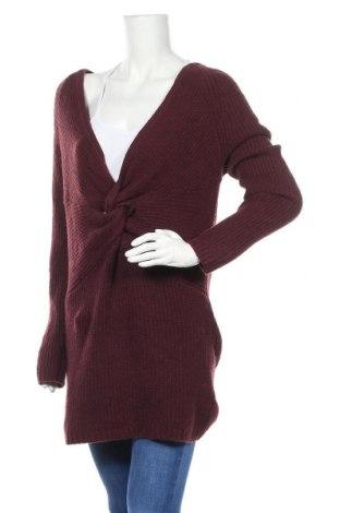 Дамски пуловер Aerie, Размер S, Цвят Червен, 53% памук, 26% полиестер, 17% полиамид, 4% еластан, Цена 18,55лв.