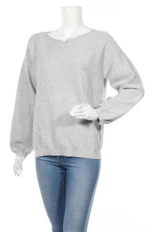 Дамски пуловер Esprit, Размер M, Цвят Сив, Памук, Цена 17,38лв.