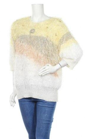Дамски пуловер Madeleine, Размер XL, Цвят Многоцветен, 40% памук, 40% полиестер, 20% акрил, Цена 42,00лв.