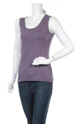 Γυναικείο πουλόβερ Myrine, Μέγεθος S, Χρώμα Βιολετί, 91% βαμβάκι, 9% ελαστάνη, Τιμή 5,05€