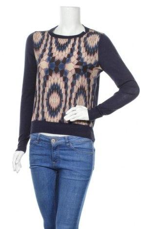 Дамски пуловер Reiss, Размер S, Цвят Син, Акрил, вълна, коприна, Цена 68,00лв.