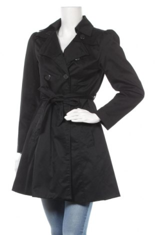 Дамски шлифер H&M, Размер S, Цвят Черен, 65% полиестер, 35% памук, Цена 33,84лв.