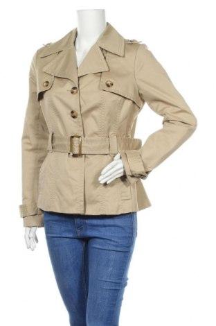 Дамски шлифер Hallhuber, Размер L, Цвят Бежов, Памук, Цена 47,60лв.