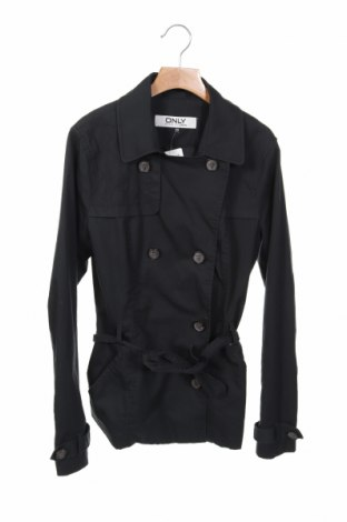 Дамски шлифер ONLY, Размер XS, Цвят Син, Цена 26,46лв.