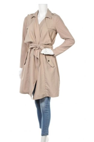 Дамски шлифер Vero Moda, Размер S, Цвят Бежов, Полиестер, Цена 36,00лв.