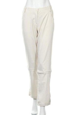 Дамски спортен панталон Brunex, Размер M, Цвят Бежов, 85% полиестер, 15% еластан, Цена 4,73лв.