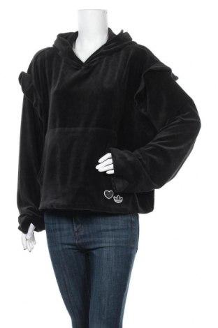 Дамски суичър Adidas Originals, Размер XL, Цвят Черен, 79% памук, 21% полиестер, Цена 74,25лв.
