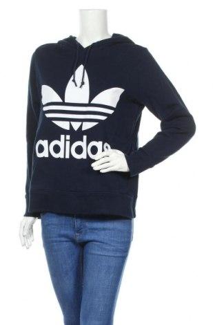 Γυναικείο φούτερ Adidas Originals, Μέγεθος M, Χρώμα Μπλέ, Βαμβάκι, Τιμή 22,73€