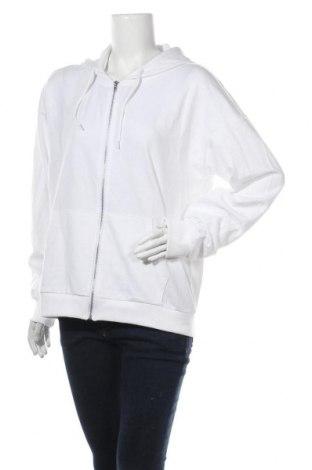 Дамски суичър Even&Odd, Размер XL, Цвят Бял, 60% памук, 40% полиестер, Цена 36,00лв.
