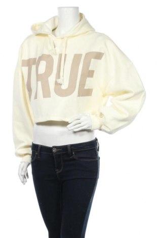 Дамски суичър Gina Tricot, Размер M, Цвят Бял, 65% памук, 35% полиестер, Цена 22,40лв.
