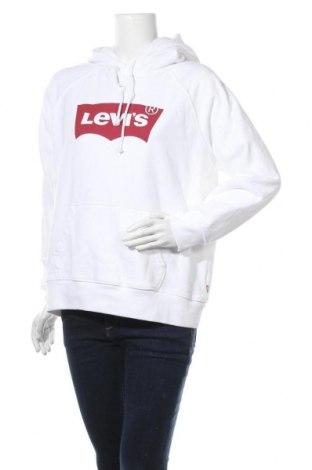 Дамски суичър Levi's, Размер L, Цвят Бял, Памук, Цена 89,25лв.