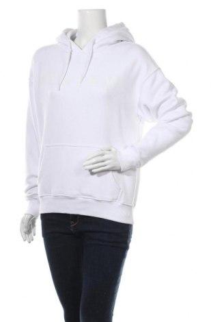 Дамски суичър Review, Размер XS, Цвят Бял, 65% памук, 35% полиестер, Цена 21,28лв.