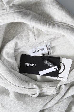 Дамски суичър Weekday, Размер XS, Цвят Сив, 85% памук, 12% полиестер, 3% вискоза, Цена 26,55лв.