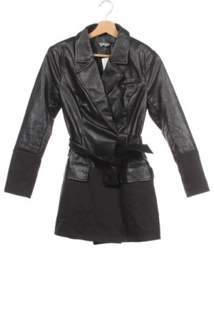Dámská kožená bunda  Missguided, Velikost XS, Barva Černá, Eko kůže, Cena  501,00Kč
