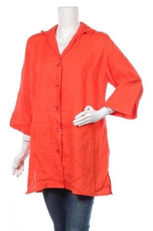 Дамско палто, Размер L, Цвят Червен, Цена 27,20лв.