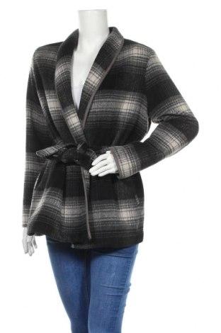 Дамско палто H&M, Размер S, Цвят Многоцветен, 53% полиестер, 43% вълна, 4% други нишки, Цена 26,10лв.
