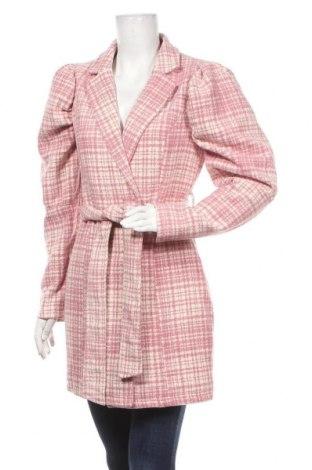 Γυναικείο παλτό Missguided, Μέγεθος S, Χρώμα Ρόζ , Πολυεστέρας, Τιμή 20,99€