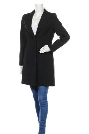 Дамско палто Patrizia Pepe, Размер M, Цвят Черен, Полиестер, Цена 87,04лв.