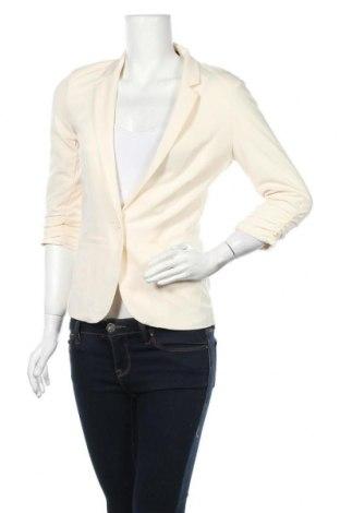 Γυναικείο σακάκι Ann Christine, Μέγεθος S, Χρώμα Εκρού, Τιμή 13,19€