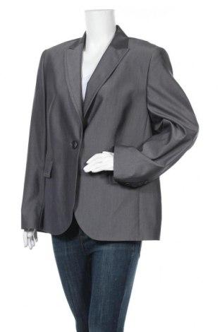 Γυναικείο σακάκι Basler, Μέγεθος XL, Χρώμα Γκρί, 66% μαλλί, 30% πολυεστέρας, 4% ελαστάνη, Τιμή 24,68€