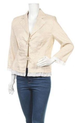 Γυναικείο σακάκι Bianca, Μέγεθος M, Χρώμα  Μπέζ, Τιμή 15,46€