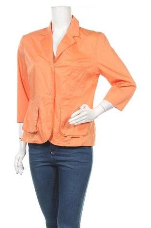 Дамско сако Blacky Dress, Размер L, Цвят Оранжев, 69% памук, 28% полиамид, 3% еластан, Цена 5,78лв.