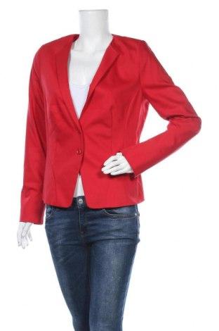 Γυναικείο σακάκι Comma,, Μέγεθος L, Χρώμα Κόκκινο, 63% βαμβάκι, 32% πολυεστέρας, 5% ελαστάνη, Τιμή 29,88€