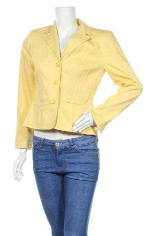 Γυναικείο σακάκι Madeleine, Μέγεθος M, Χρώμα Κίτρινο, 98% βαμβάκι, 2% ελαστάνη, Τιμή 17,92€
