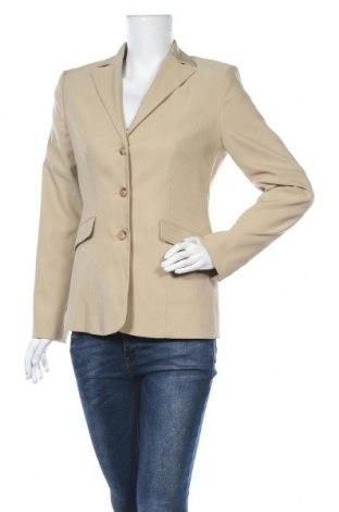 Γυναικείο σακάκι More & More, Μέγεθος S, Χρώμα  Μπέζ, 95% πολυεστέρας, 5% ελαστάνη, Τιμή 16,96€