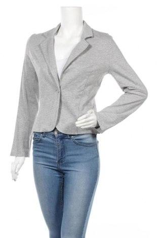 Γυναικείο σακάκι Q/S by S.Oliver, Μέγεθος L, Χρώμα Γκρί, Τιμή 15,20€