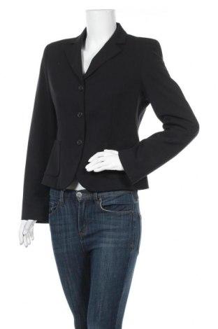 Γυναικείο σακάκι Sisley, Μέγεθος M, Χρώμα Μαύρο, 47% πολυεστέρας, 46% βισκόζη, 7% ελαστάνη, Τιμή 15,79€