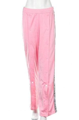 Γυναικείο αθλητικό παντελόνι Adidas, Μέγεθος L, Χρώμα Ρόζ , 100% πολυεστέρας, Τιμή 17,43€