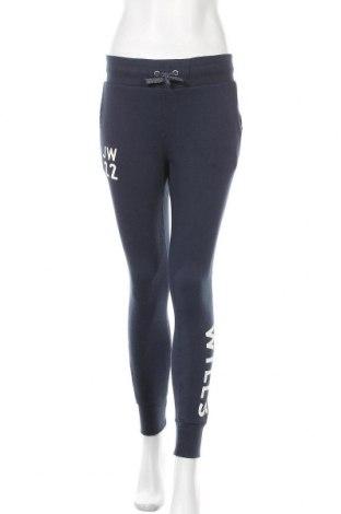 Дамско спортно долнище Jack Wills, Размер S, Цвят Син, 84% памук, 16% полиестер, Цена 66,75лв.