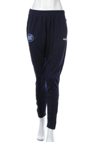 Γυναικείο αθλητικό παντελόνι Jako, Μέγεθος M, Χρώμα Μπλέ, Πολυεστέρας, Τιμή 15,43€