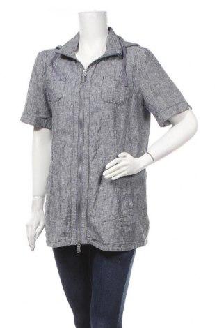 Γυναικείο μπουφάν Gina Laura, Μέγεθος M, Χρώμα Γκρί, 55% λινό, 45% βαμβάκι, Τιμή 8,18€