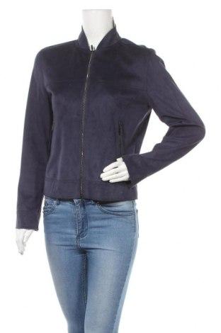 Γυναικείο μπουφάν Max Mara, Μέγεθος M, Χρώμα Μπλέ, 86% πολυεστέρας, 14% ελαστάνη, Τιμή 67,55€