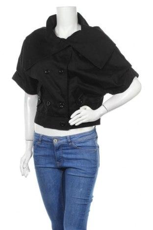 Γυναικείο μπουφάν Ted Baker, Μέγεθος M, Χρώμα Μαύρο, 97% βαμβάκι, 3% ελαστάνη, Τιμή 30,28€