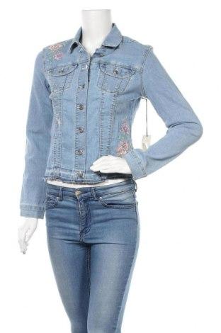 Дамско яке U.S. Polo Assn., Размер S, Цвят Син, 81% памук, 18% полиестер, 1% еластан, Цена 71,40лв.