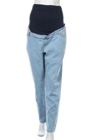 Дънки за бременни Missguided, Размер XL, Цвят Син, 74% памук, 25% полиестер, 1% еластан, Цена 33,12лв.