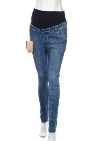 Дънки за бременни Pietro Brunelli, Размер S, Цвят Син, 95% памук, 5% еластан, Цена 60,52лв.